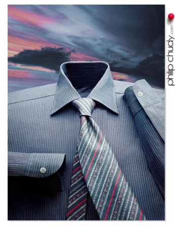 Ren Magritte style shirt. 